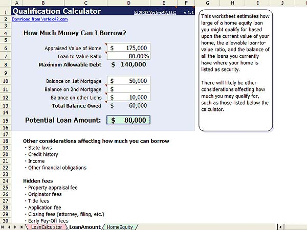 Equity release calculator by uk company retirement experience.