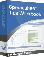 Spreadsheet Tips Workbook