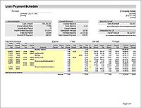 prepaid amortization schedule excel template amortization formulas in excelamazon ge es excel. Black Bedroom Furniture Sets. Home Design Ideas