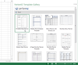 Vertex42 Template Gallery - App for Office
