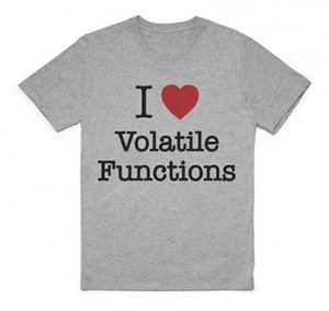 I Heart Volatile Function T-Shirt