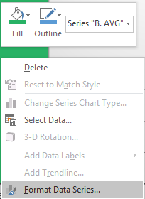 types of excel charts