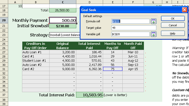 Calculate Monthly Payment