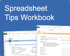 Vertex42 Spreadsheet Tips Workbook