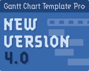 Gantt Chart Template Pro 4.0