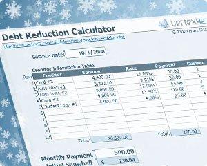 Vertex42 Debt Reduction Strategies