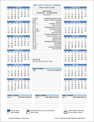 calendar template by vertex42 com - 10 ways to use calendar templates