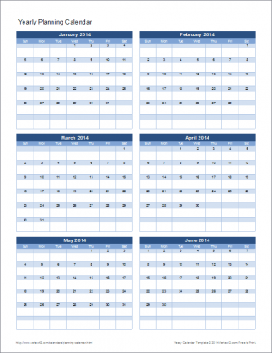 10 ways to use calendar templates for Templates by vertex42 com