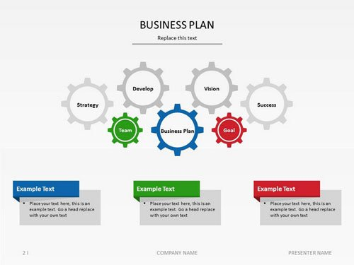 Slideshop business plan slide