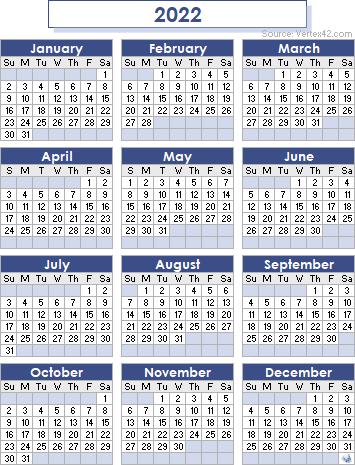 2022 23 Calendar Printable.2022 Calendar Templates And Images