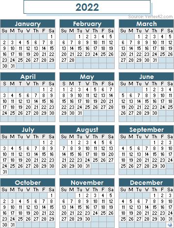Jmu Calendar 2022 2023.2022 Calendar Templates And Images