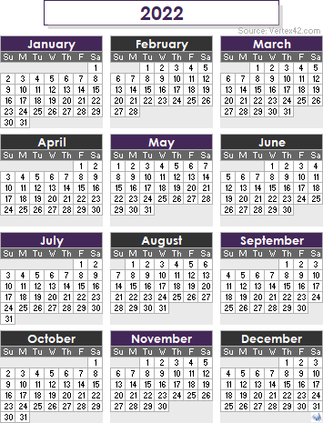 2022 19 Calendar.2022 Calendar Templates And Images